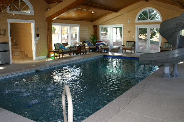 custom indoor pools